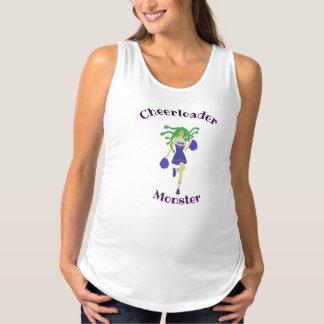 cheerleader monster maternity tank top