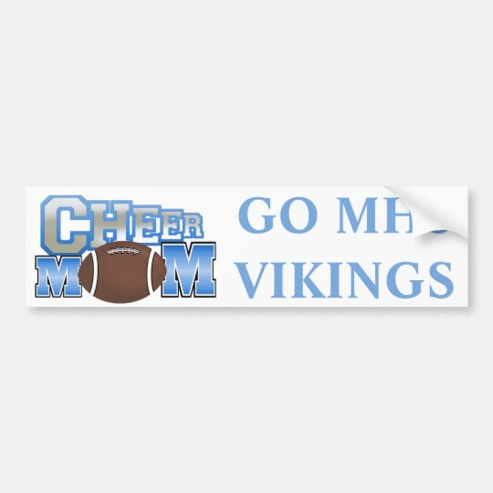 Cheerleader Mum Bumper Sticker