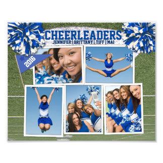 Cheerleader Photo Collage