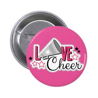"Cheerleader Pin ""Love Cheer"""