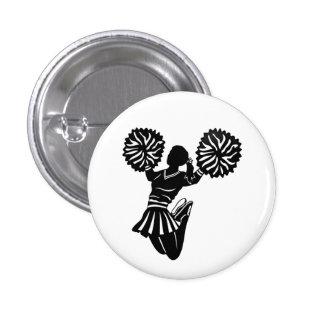 Cheerleader pin or button