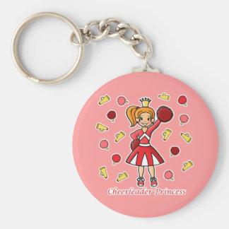Cheerleader Princess Key Ring