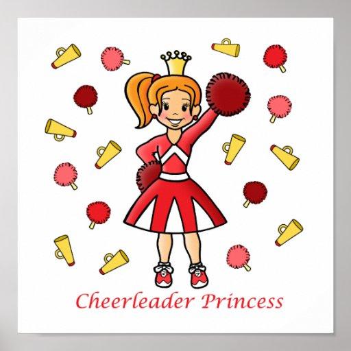 Cheerleader Princess Posters
