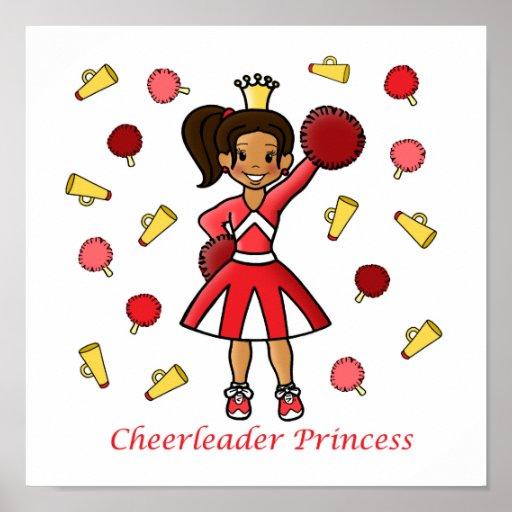 Cheerleader Princess Print