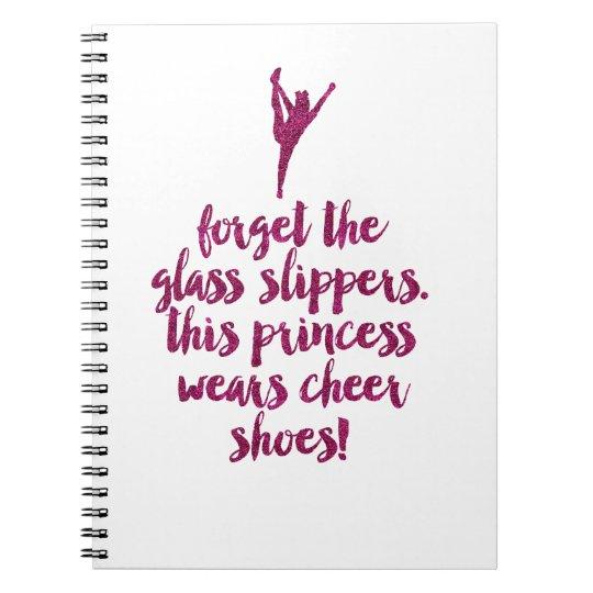 Cheerleader Quote Notebook
