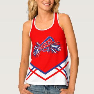 Cheerleader - Red, White & Blue Tank Top