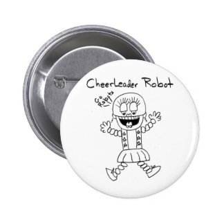 Cheerleader Robot Button