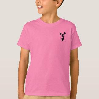 Cheerleader silhouette T-Shirt