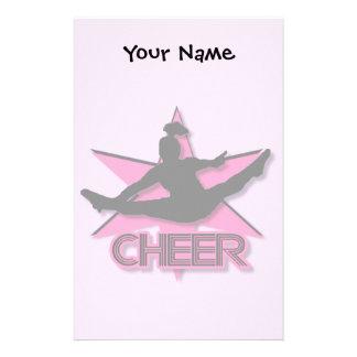 Cheerleader Stationery