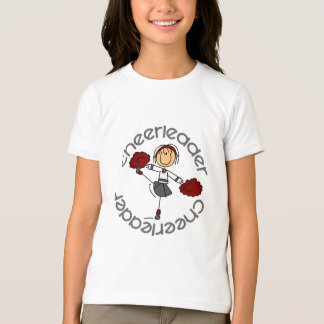 Cheerleader Stick Figure T-Shirt