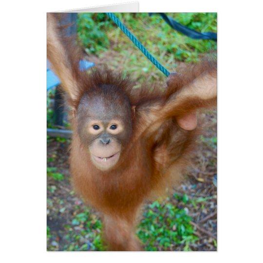 Cheerleader : Team Orangutan Card