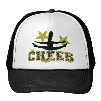 Cheerleader toe touch hats