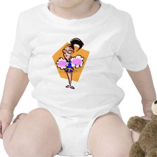 Cheerleader Baby Bodysuits