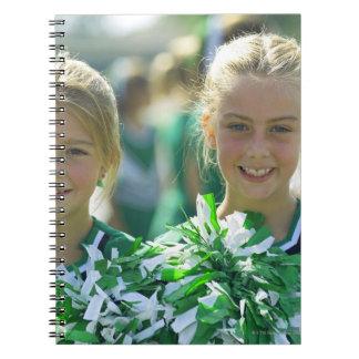 Cheerleaders 2 notebooks