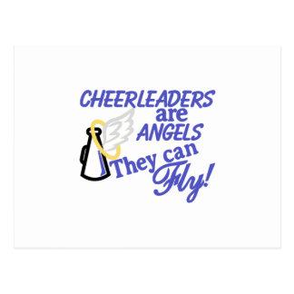 Cheerleaders Are Angels Postcard