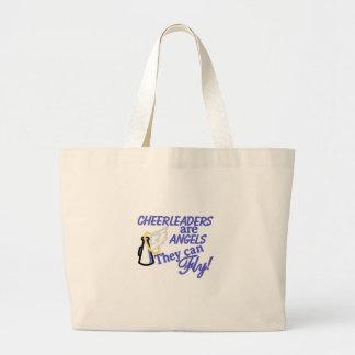Cheerleaders Are Angels Jumbo Tote Bag