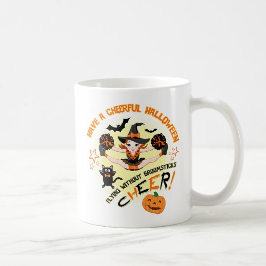 Cheerleader's Halloween Mug