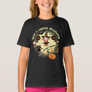 Cheerleader's Halloween T-Shirt