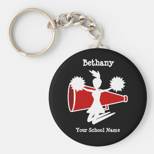 Cheerleader's Key Chain