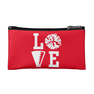 Cheerleaders Love Cosmetic Bag