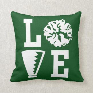 Cheerleaders Love, Green Cheer Cushion
