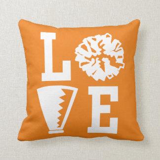 Cheerleaders Love, Orange Cheer Cushion