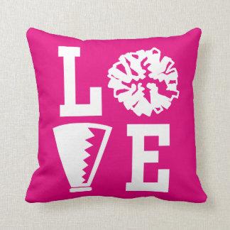 Cheerleaders Love, Pink Cheer Cushion