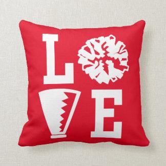 Cheerleaders Love, Red Cheer Cushion