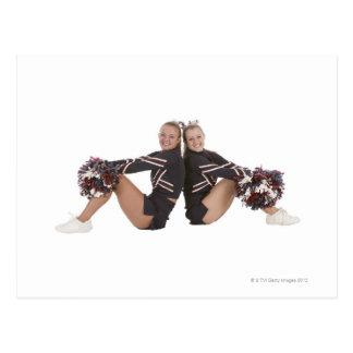 Cheerleaders Postcard