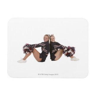 Cheerleaders Rectangular Photo Magnet
