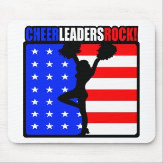 Cheerleaders Rock! Mouse Mat