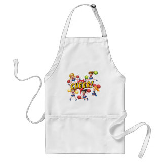 Cheerleaders Standard Apron