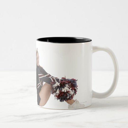 Cheerleaders Two-Tone Coffee Mug