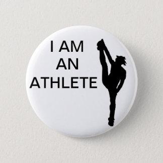 Cheerleading Athlete Button