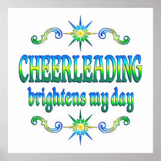 Cheerleading Brightens Poster