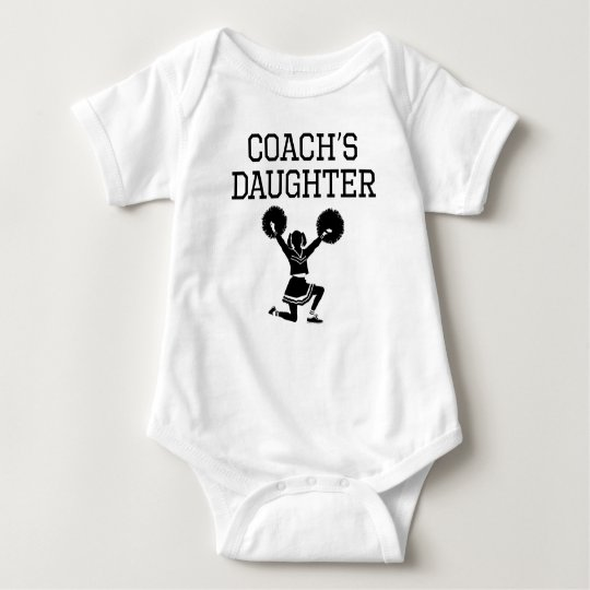 Cheerleading Coach's Daughter Baby Bodysuit