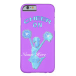 Cheerleading iPhone 6 Cases Your COLOR and TEXT Barely There iPhone 6 Case