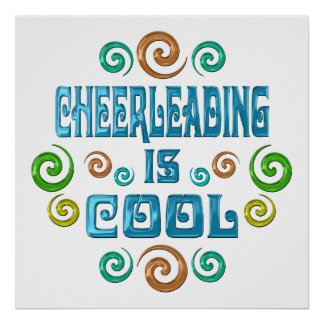 Cheerleading is Cool Poster