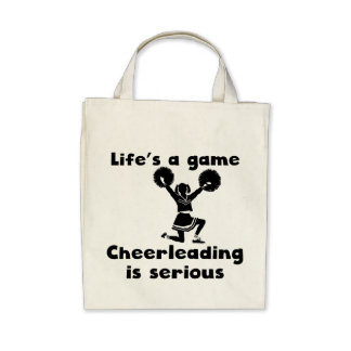 Cheerleading Is Serious Canvas Bag