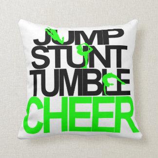 Cheerleading Pillow Jump, Stunt, Tumble, Cheer