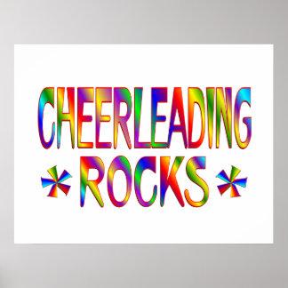 Cheerleading Rocks Poster