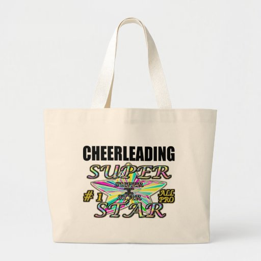 Cheerleading Superstar Canvas Bags