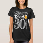 Cheers and Beers to 30 Years Women's Basic T-Shirt
