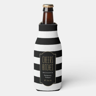 Cheers   Bachelorette Bottle Cooler
