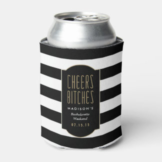 Cheers   Bachelorette Can Cooler