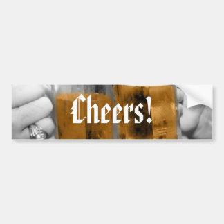 Cheers! Bumper Sticker