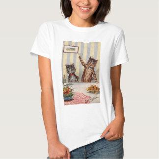 Cheers Cat, Louis Wain T-Shirt
