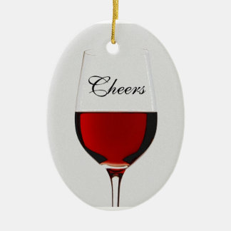 Cheers Ceramic Oval Decoration