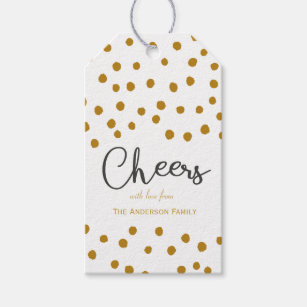cheers gift tags gift enclosures zazzle co uk