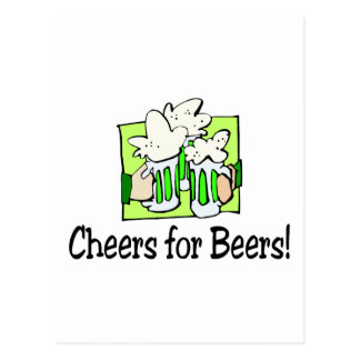 Cheers For Beers St Patty Day Postcard
